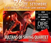 Este sábado 26 de septiembre SULTANS QUARTET !!