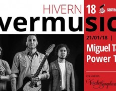 Estimados amigos/as  y followers/ars…. Esta semana vuelve a la carga MIGUEL TALAVERA POWER TRIO!!!