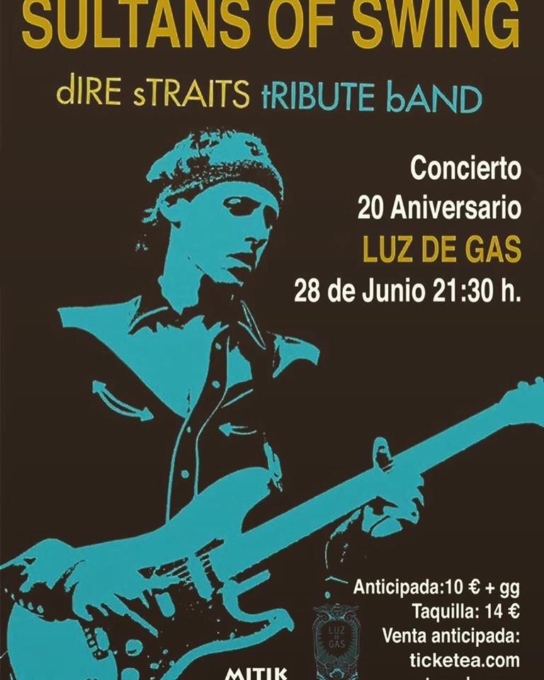 20 years sultans tribute band