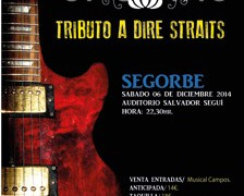 Sábado 6 dic. SULTANS OF SWING TRIBUTE BAND!!!